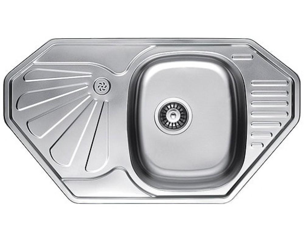 Кухонная мойка Fabiano 850*472 Микродекор из нержавейки