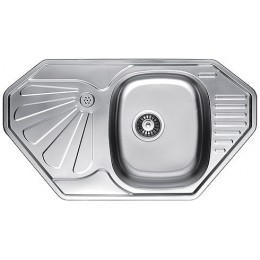 Кухонная мойка Fabiano 850 x 472 Микродекор