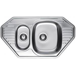 Кухонная мойка Fabiano 850 x 472 x 15 Микродекор