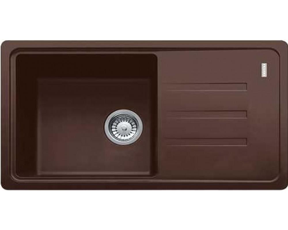 Кухонная мойка Franke Malta BSG 611-78 (114.0375.039) Шоколадный