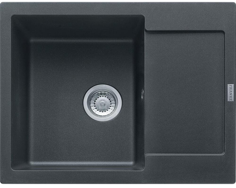 Кухонная мойка MARIS MRG 611-62 (114.0381.004) цвет графит