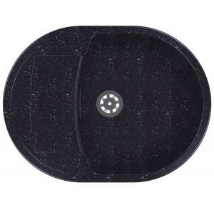 Кухонная мойка IDIS Cappa Obsidian PSLC 508