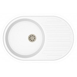 Кухонная мойка IDIS Vectra Signal White 9003