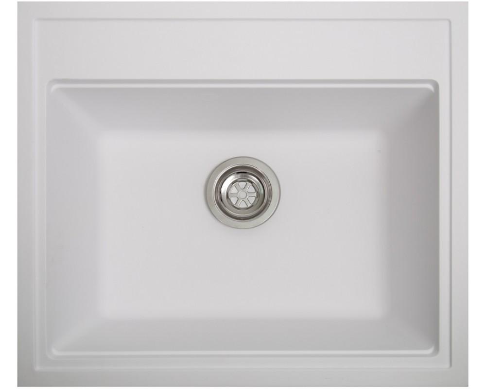 Кухонная мойка Solid Gross White