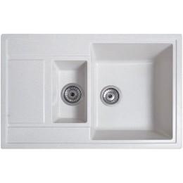 Кухонная мойка Solid Practic White
