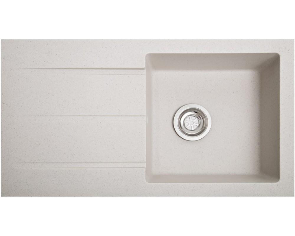Кухонная мойка Solid Quadro White