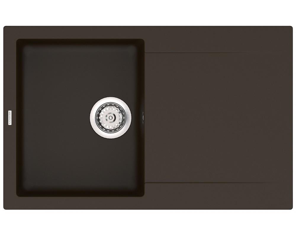 Каменная мойка VANKOR Orman OMP 02.78 Chocolate