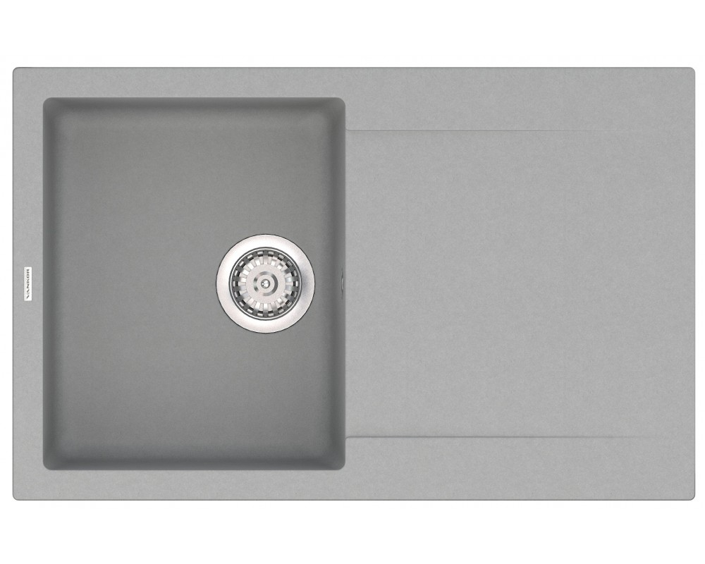 Гранитная мойка VANKOR Orman OMP 02.78 Gray