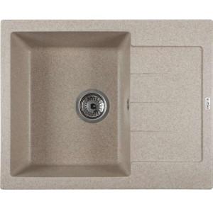 Кухонная мойка Ventolux SILVIA (BROWN SAND) 620x500x200