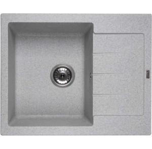 Кухонная мойка Ventolux SILVIA (GRAY GRANIT) 620x500x200