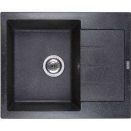 Кухонная мойка Ventolux SILVIA (SPACE BLACK) 620x500x200