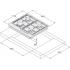 Газовая варочная поверхность Syntra SGH 461 Black Glass
