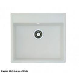 Мойка Fabiano Quadro 56x51 Alpine White