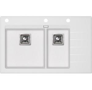 Кухонная мойка AquaSanita Delicia Plus GQD-150W/ 710 alba
