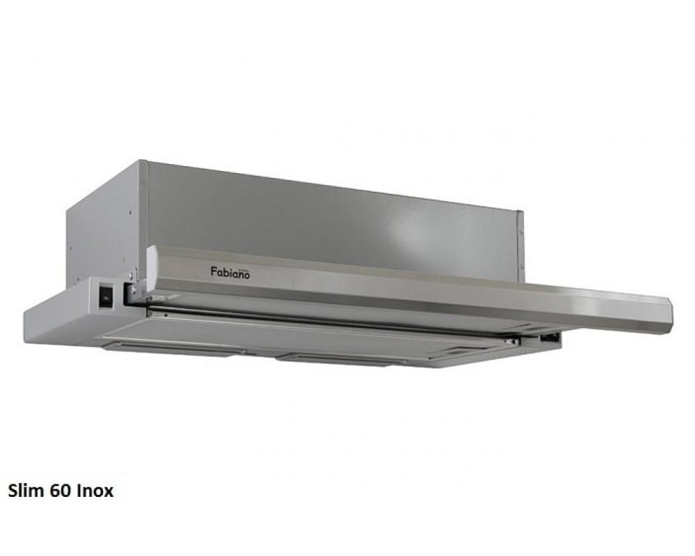 Телескопическая кухонная вытяжка Fabiano Slim 60 Inox