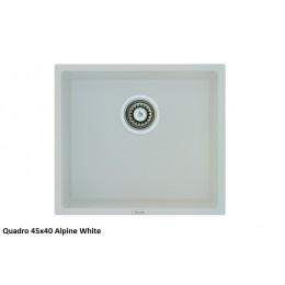 Мойка Fabiano Quadro 45x40 Alpine White