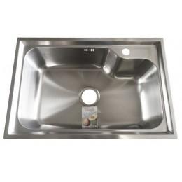 Кухонная мойка Fabiano 680 х 450 полированная