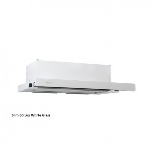 Вытяжка Fabiano Slim Lux 60 White Glass