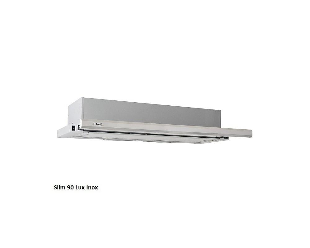 Телескопическая кухонная вытяжка Fabiano Slim 90 Lux Inox