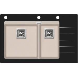 Кухонная мойка AquaSanita Delicia Plus GQD-150B/ 111 silica