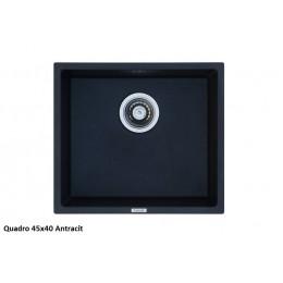 Кухонная мойка Quadro 45x40 (Antracit)
