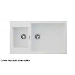 Мойка Fabiano Quadro 86x50x15 Alpine White