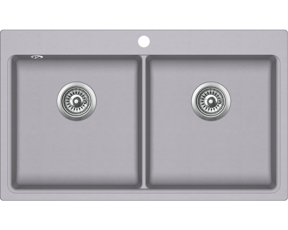 Кухонная мойка AquaSanita Magna SQM-200/ 202 alumetallic