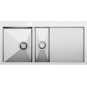Кухонная мойка AquaSanita Luna LUN 151M-L