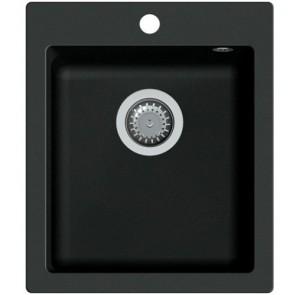 Мойка AQUASanita SIMPLEX SQS-100 Черный металлик - 601