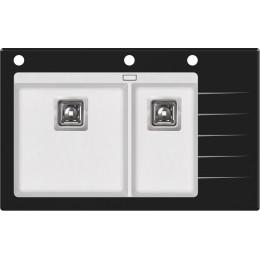 Кухонная мойка AquaSanita Delicia Plus GQD-150B/ 710 alba