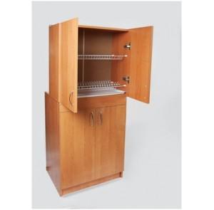 Комплект шкаф навесной 600 х 295 + тумба под мойку 800 х 460