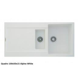 Мойка Fabiano Quadro 100x50x15 Alpine White