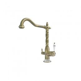 Смеситель Fabiano FKM 31.8 Brass-Antique