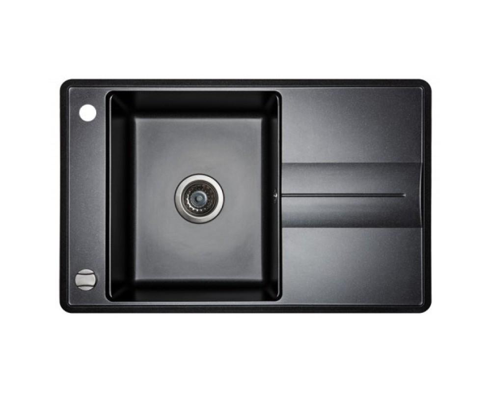 Кухонная мойка AQUASanita Bella SQB 101 Черный металлик - 601
