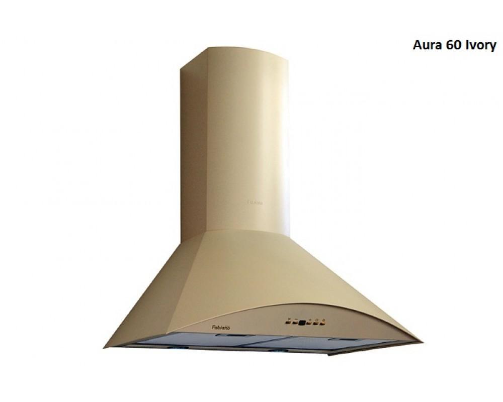Кухонная вытяжка Fabiano Aura 60 Ivory