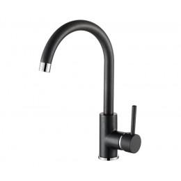Смеситель Aquasanita на кухню Sabia 5523-601 black metallic