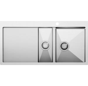 Кухонная мойка AquaSanita Luna LUN 151M-R
