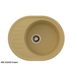 Мойка Fabiano ARC 62x50 Cream