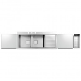 Кухонная мойка Apell Sinphonia PD1162IRKITW Satin